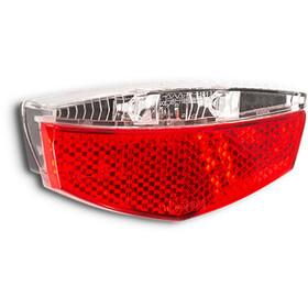 Cube RFR CMPT Bagagebærerlygte, rød/gennemsigtig